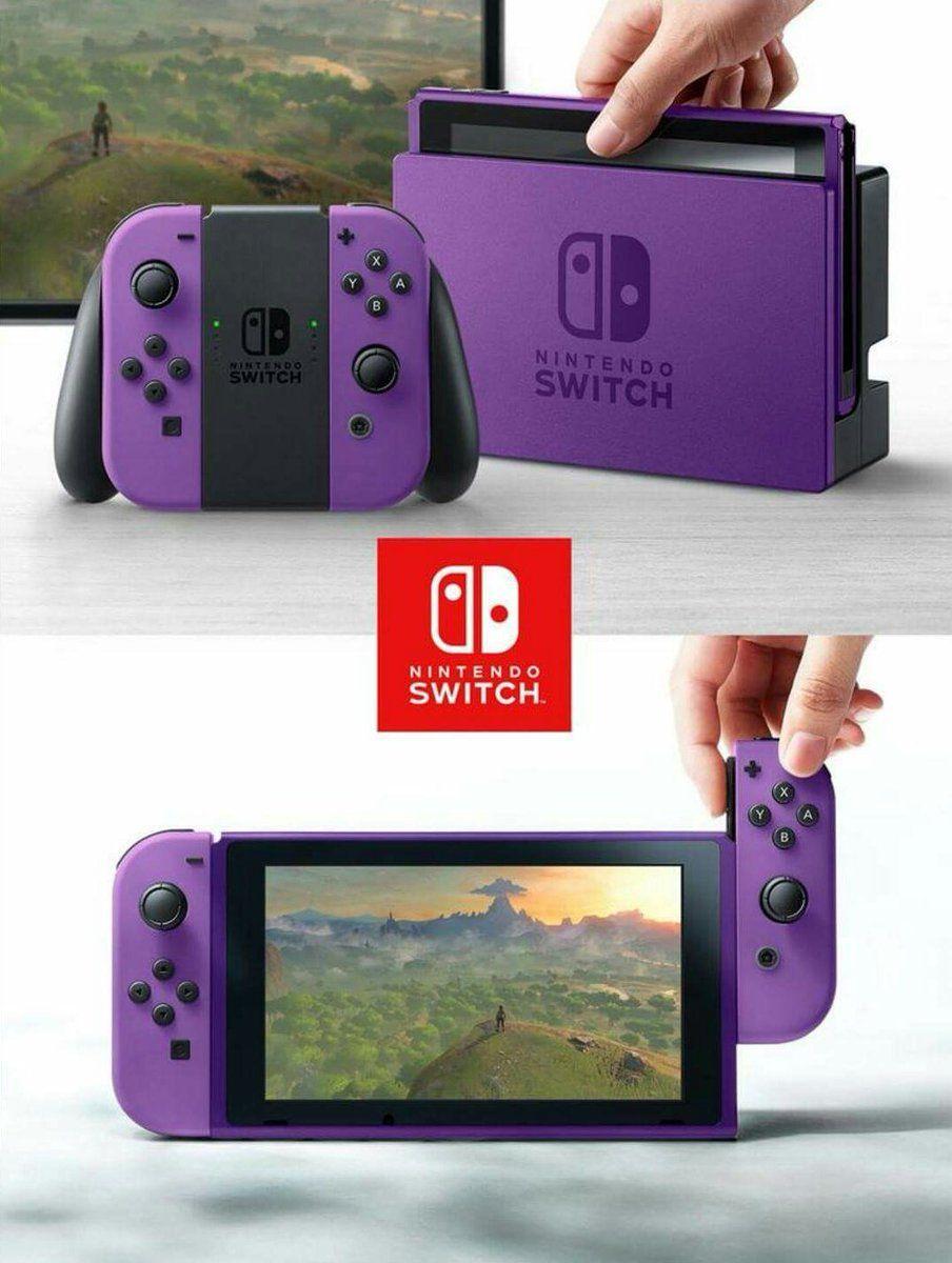 """What Nintendo Switch Design do you prefer? #NintendoSwitch   RT - Purple LIKE - Orange Reply - Green"""