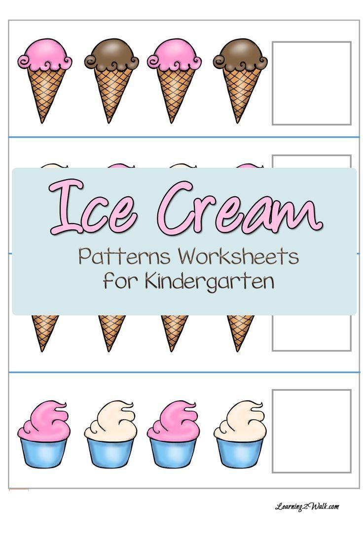 Ice Cream Patterns Worksheets For Kindergarten Pattern Worksheets For Kindergarten Pattern Worksheet Kindergarten Worksheets [ 1104 x 736 Pixel ]