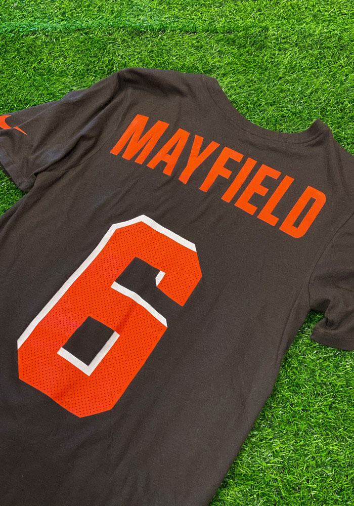 Baker Mayfield Cleveland Browns Brown Player Pride Short