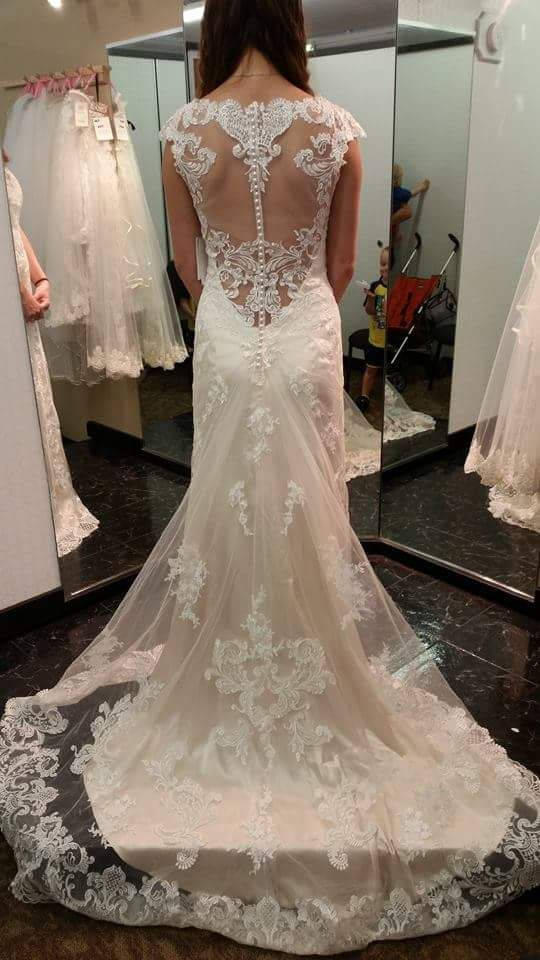 Maggie Sottero Francesca, $775 Size: 8   Used Wedding Dresses ...