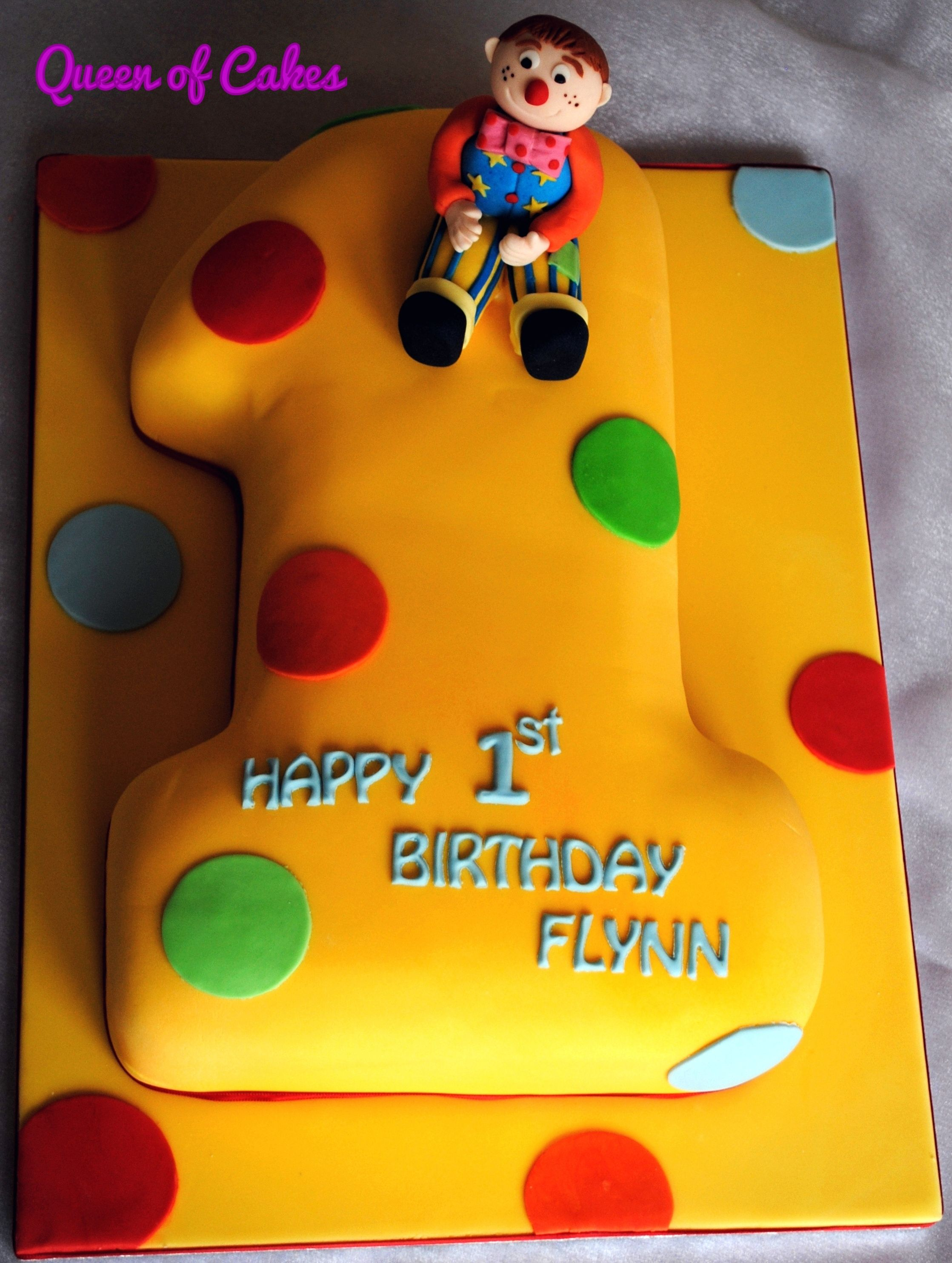 Cbeebies Mr Tumble 1st Birthday Cake By Queen Of Cakes Mr Tumble Birthday Orange Birthday Cake Mr Tumble Birthday Cake
