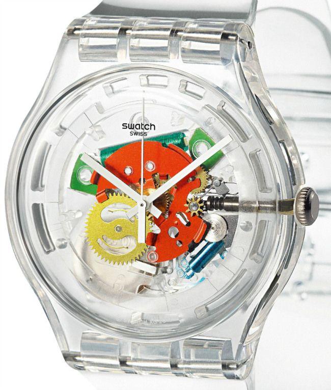Swatch Random Ghost un reloj con 15.120 posibles variantes