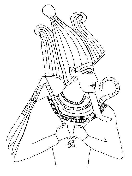 Pharaoh | Colouring Pages | Pinterest