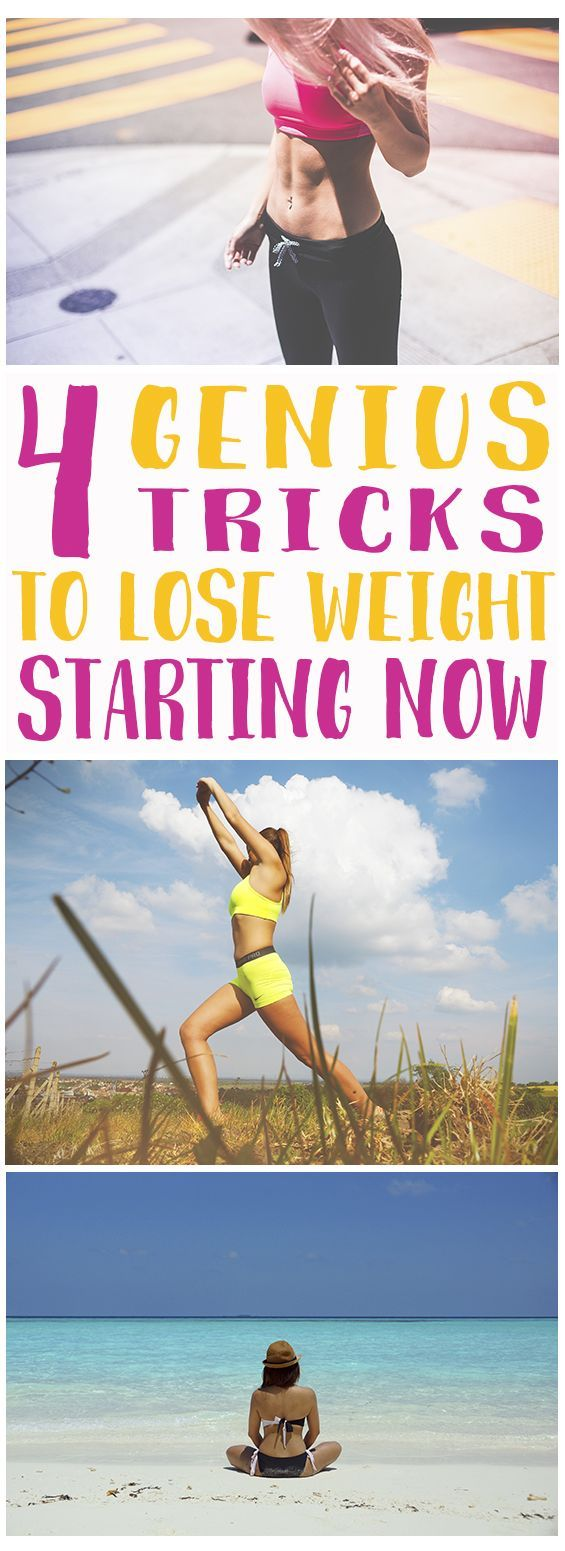 4 Small Changes To Start Losing Weight #geniusmomtricks