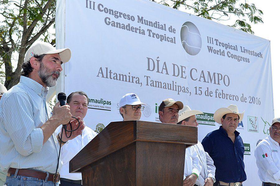Inauguran Tercer Congreso Mundial de Ganadería Tropical en Tamaulipas