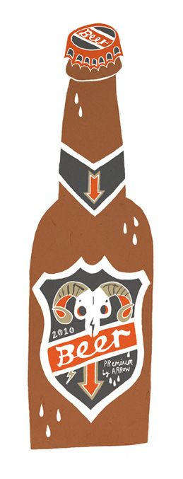 Owen Davey - Beer - Food Drink - Packaging - http://www.folioart.co.uk/illustration/folio/artwork/beer/