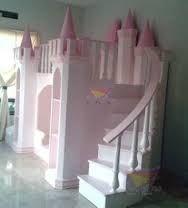 Cama camarote de princesa muebles escaleras con - Cama nina princesa ...
