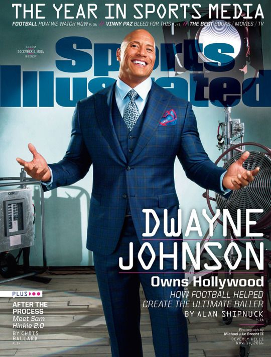 Si photo blog dwayne the rock johnson appears on the cover of si photo blog dwayne the rock johnson appears on the cover of the december 5 2016 issue of sports illustrated once an aspiring nfl player m4hsunfo