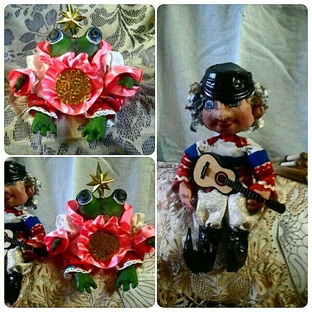 #handmade #coffee #textile #interior #doll # ручнаяработа #текстильнаякукла #музыкантиКсюша
