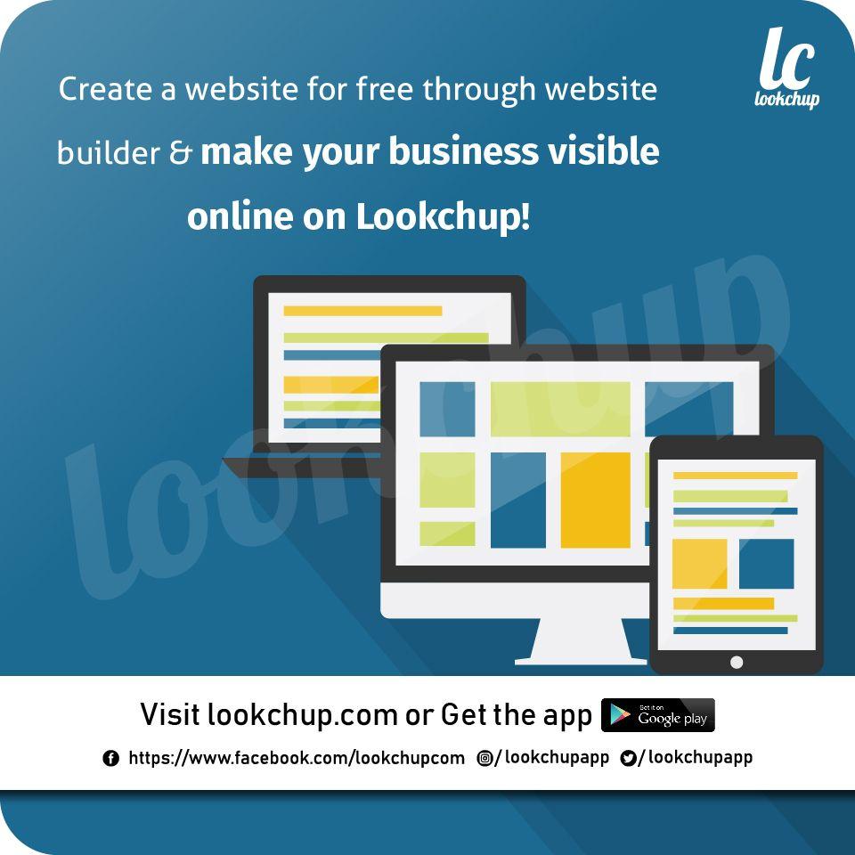 Create An Account Or Log In Create website, Make