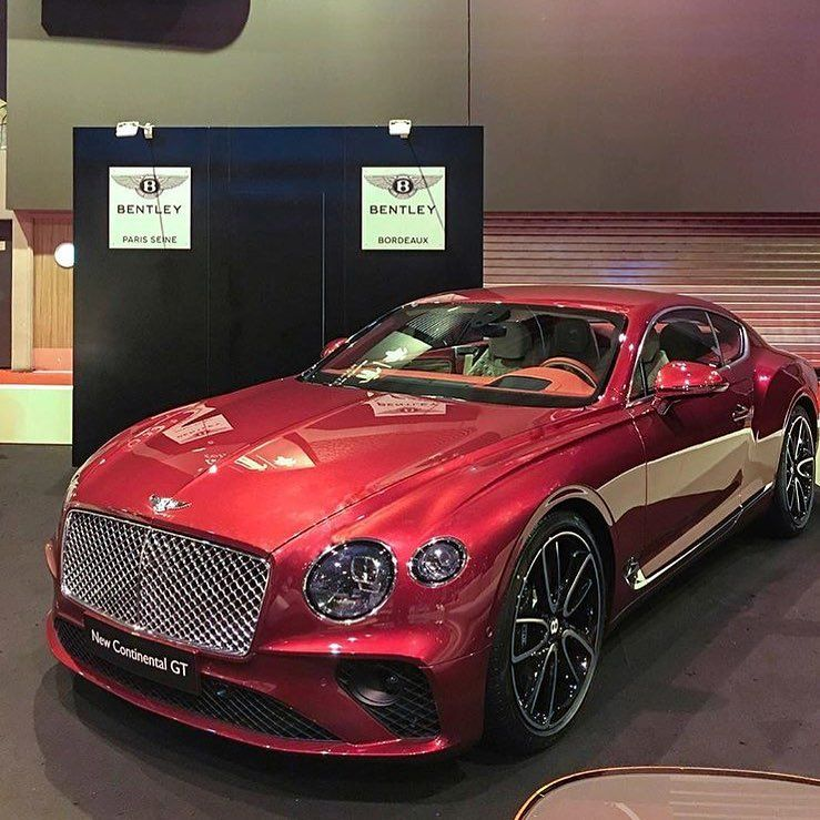 One For The Ladies Bentley Continental Gt Pink: The All New 2018 Bentley Continental