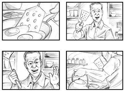 Large Image of Storyboard Illustration Sample – Storyboard Sample
