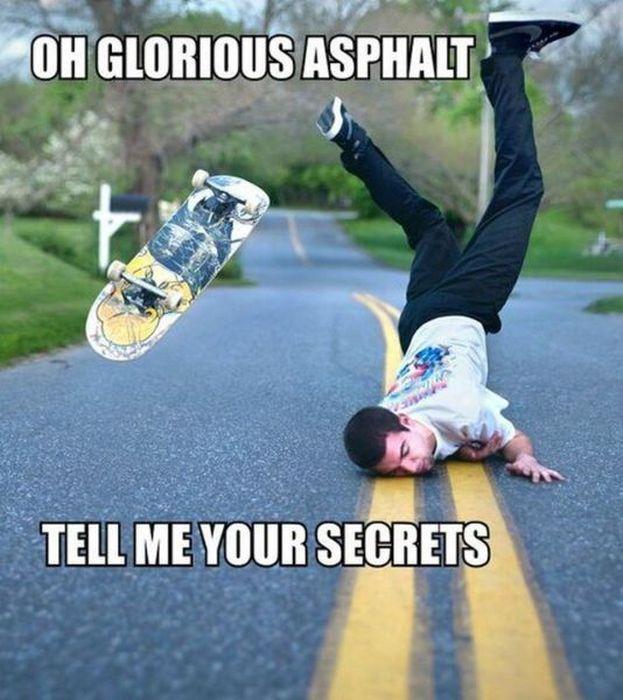 17 Photos That Were A Big Mistake Skaten Skateboard Funny Und