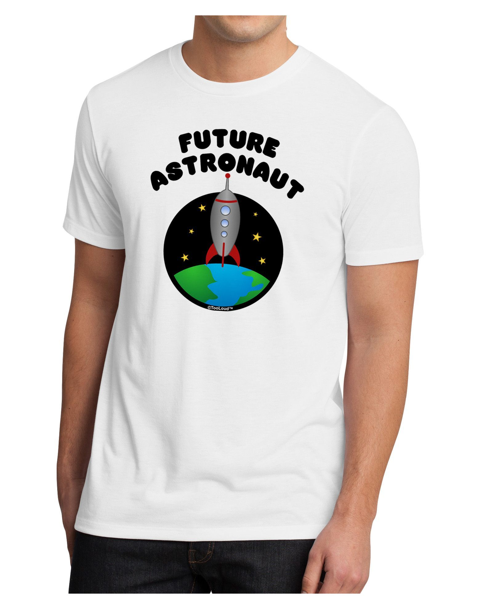 TooLoud Future Astronaut Color Men's Sublimate Tee