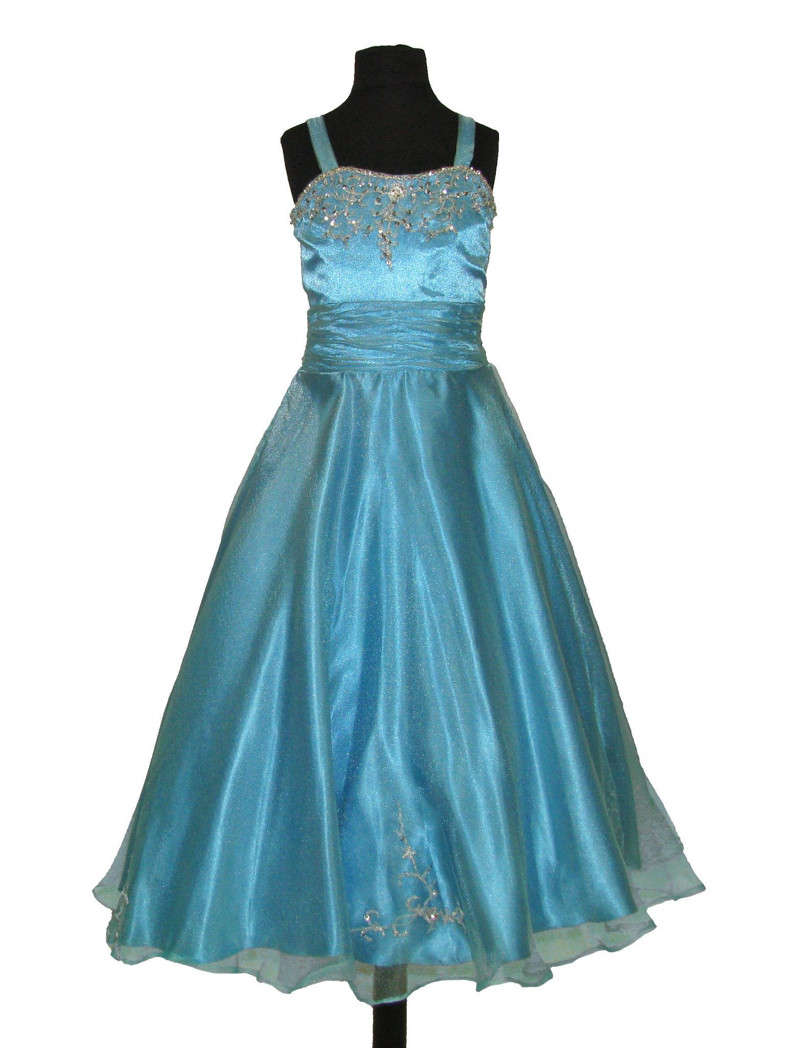 Tiffany princess girls pageant ball gown dress kids
