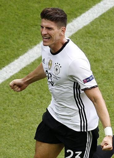 Em 2016 Nordirland Deutschland Die Bilder Dfb Nationalmannschaft Fussball Dfb Mario Gomez