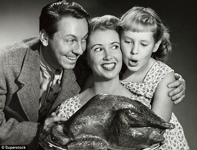 Classic Black And White Photos Shows Thanksgiving Celebrations 50 Years Ago