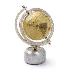 Aviator Desk Globe