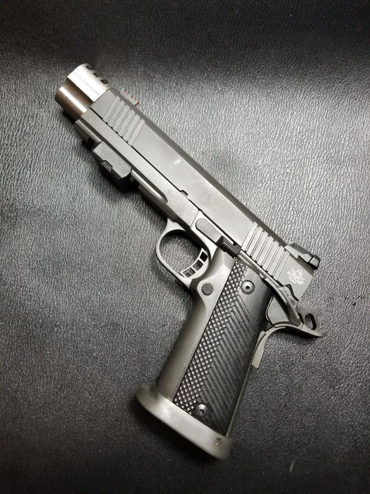 Rock Island Double Stack 45 ACP with compensator | Guns