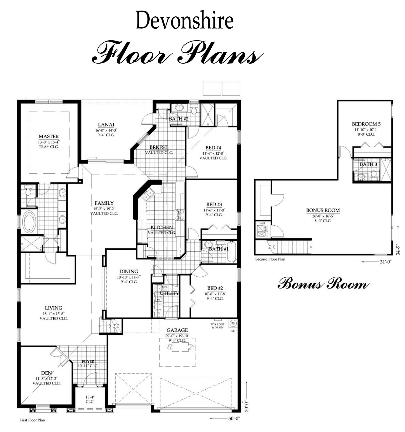 The Devonshire With Bonus Room Is A Lot Of Home For The Money This 3 Bedroom 3 Bath 2 Car Garage Also Has A Den And Large Upstairs Bonus Room The Ki