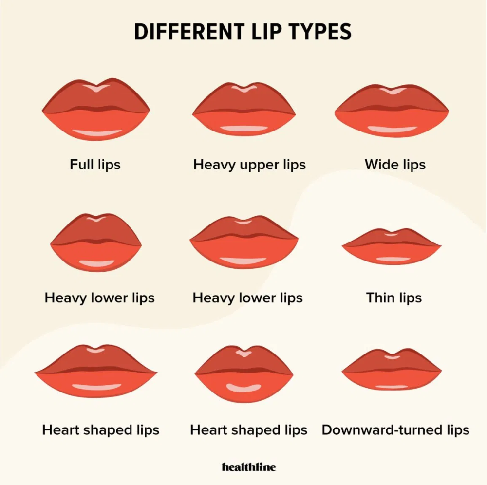 Types of Lips: Lip Care Lip Enhancement and Lip Facts in ...