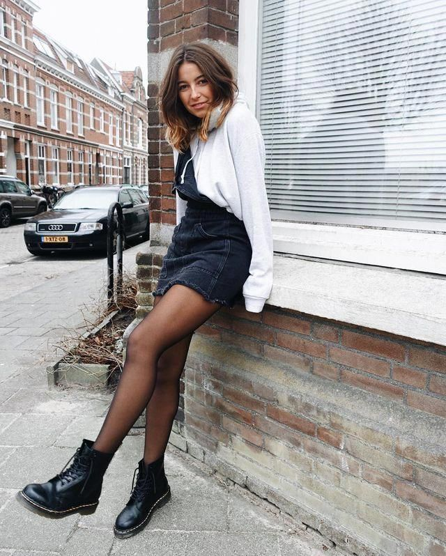 doc martens outfit  casual fall outfit winter outfit