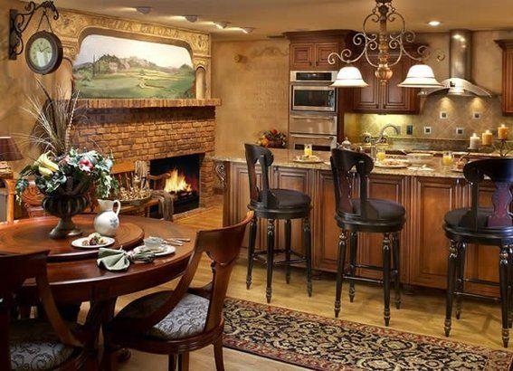 Beautiful Tuscan Interior Design | Handmade Tuscan Style Interior Design Project By  Andrea Lauren Elegant .
