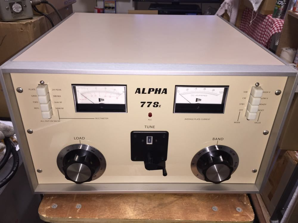 Alpha Scarce 77sx Linear Amplifier Using Pair 8877 Free Shipping Worldwide Ham Radio Amplifier Linear