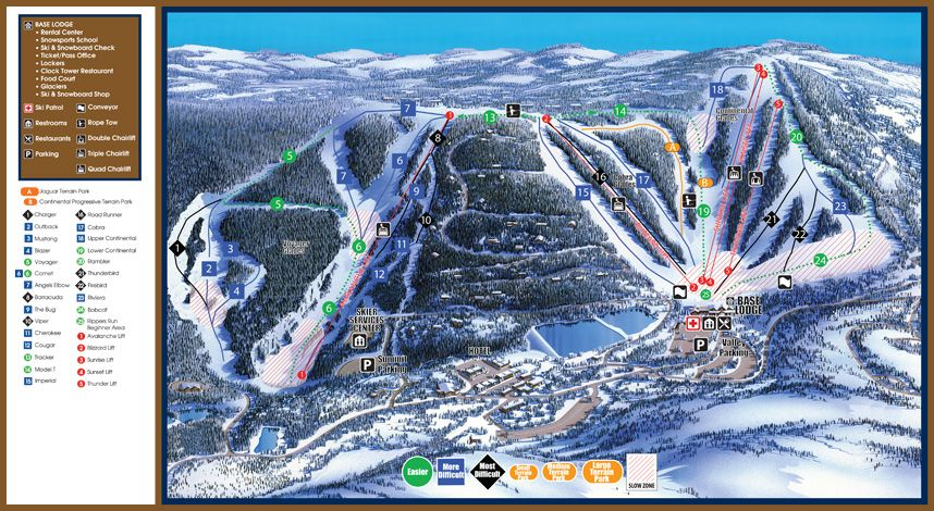 Slopes And Trails Hidden Valley Resort Pa Pennsylvania Ski Resort Four Season Resort Ski Resort Snow Resorts Skiing