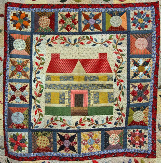 Quilting By Celia Applique quilts, Quilts, Embroidered