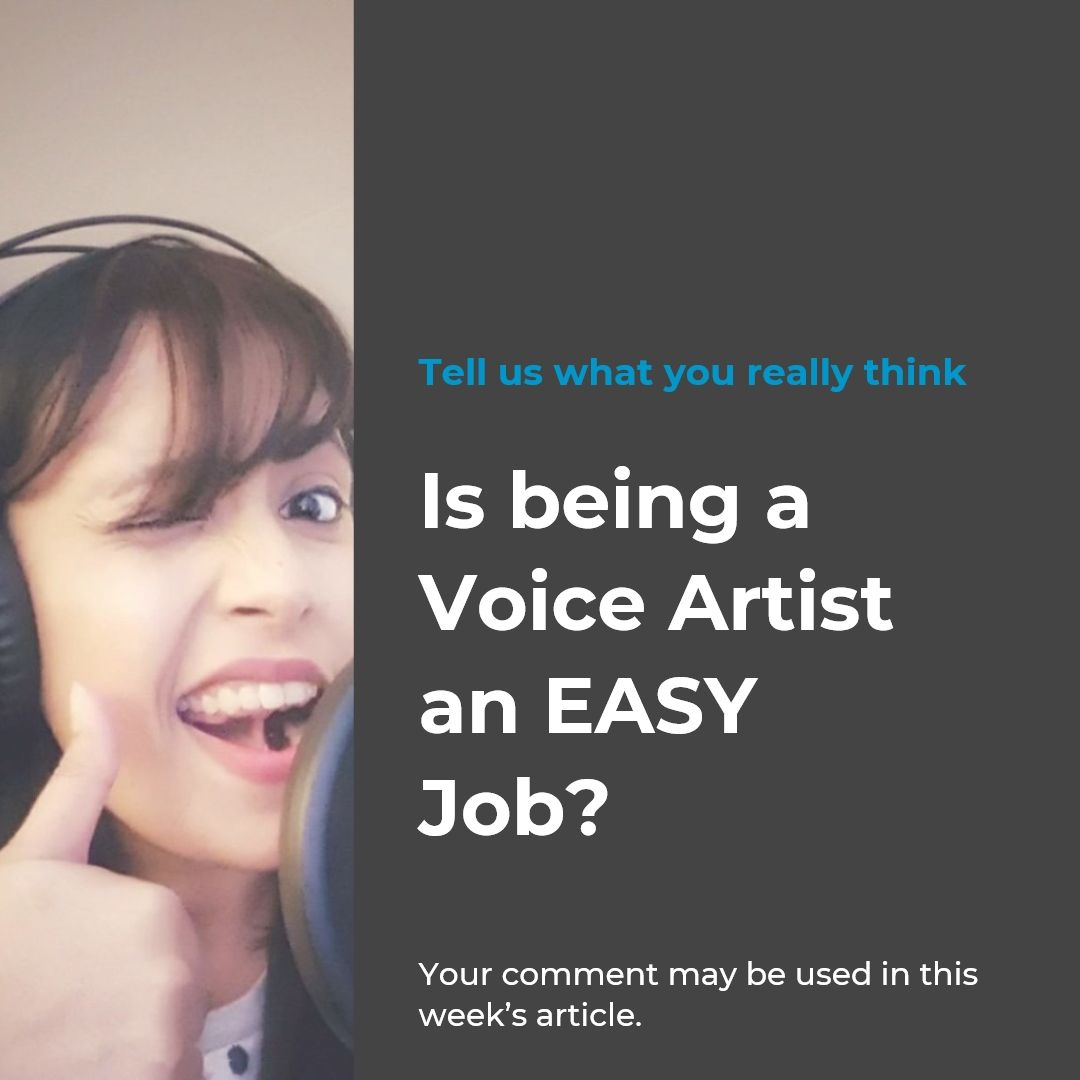 Is Being a VoiceOver Artist an Easy Job Easy jobs, The