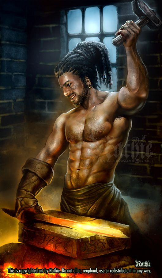 Hephaestus God Of War