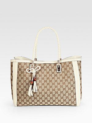 3a73d14c800f Gucci Bella Original GG Canvas Tote | Why I love Saks! in 2019 ...