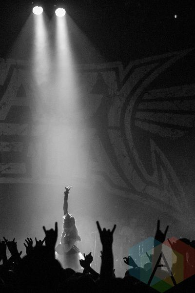 Babymetal performing at The Danforth Music Hall in Toronto, ON on May 12, 2015. (Photo: Rick Clifford/Aesthetic Magazine Toronto)