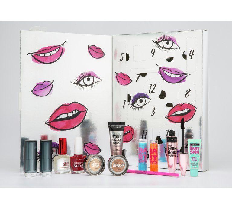 Maybelline Countdown Advent Calendar | Beauty advent calendar