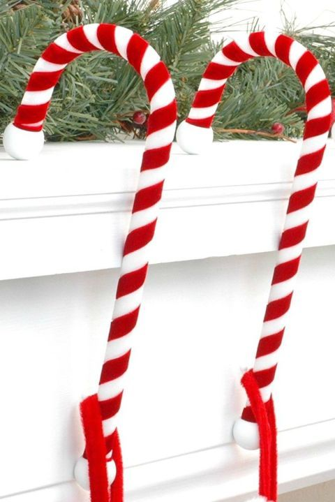 Christmas Decorations Candy Canes 12 Stocking Holders That Will Surely Catch Santa's Attention This