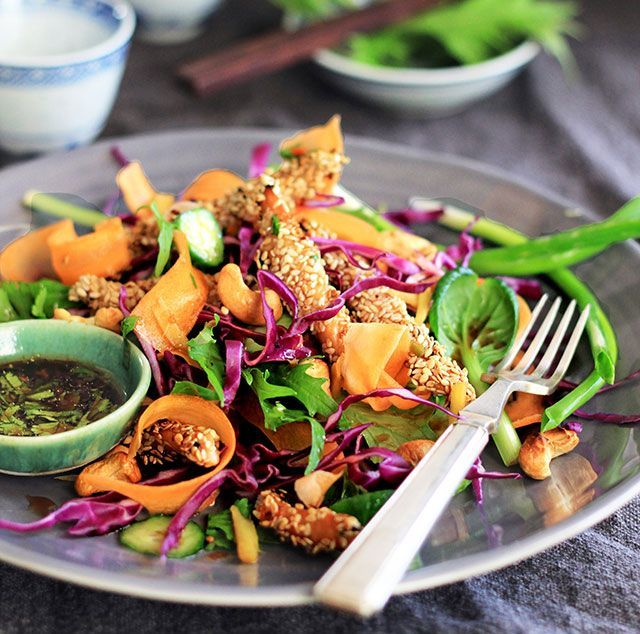 Chicken Salad with an Asian Twist recipe