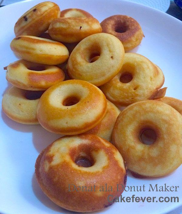 Resep Donat Untuk Donut Maker Donat Panggang Makanan Dan Minuman Resep Masakan