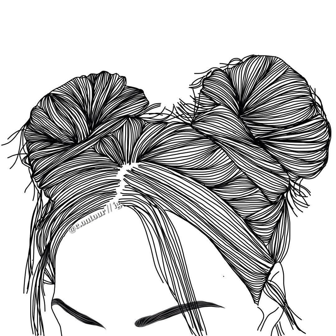 girl outline
