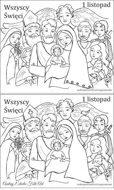 Holy Wins 2018 Nasze Niebo Oraz Zabawy Ze Swietymi Do Druku
