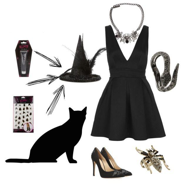 Pin de Carolina Veron en DISFRACES - Disfraz sencillo halloween, Disfraz de bruja casero y ...