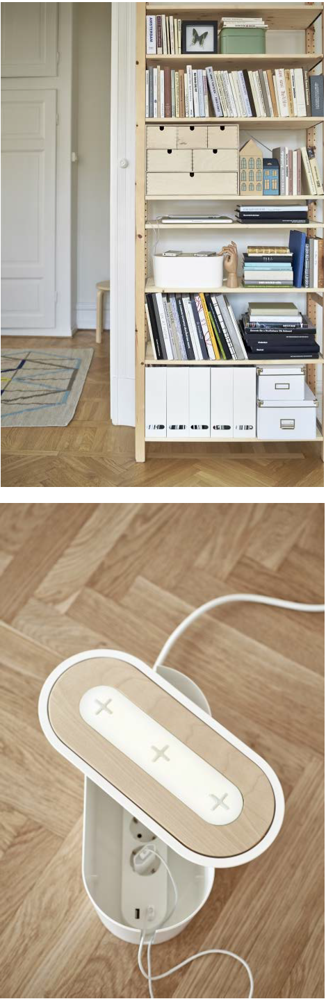 Romma Cable Management Box With Lid White Ikea Living