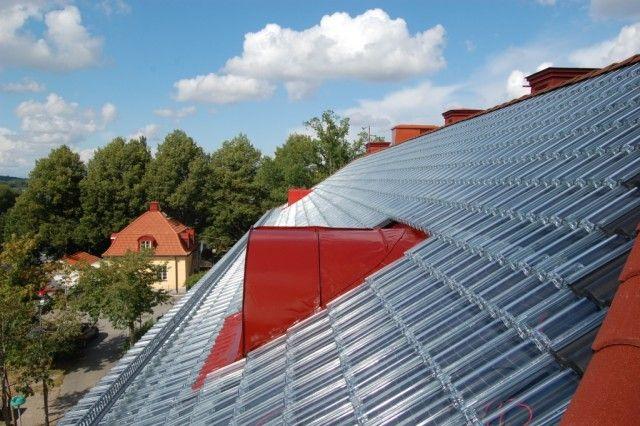 Suède - Energie  Une nouvelle technologie simple et ingénieuse - Panneau Solaire Chauffage Maison