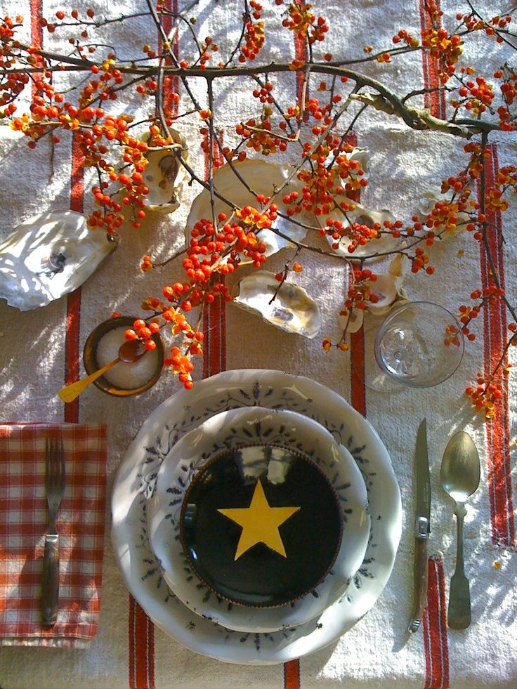 53 Beautiful Thanksgiving Tablescapes   Thanksgiving table ...