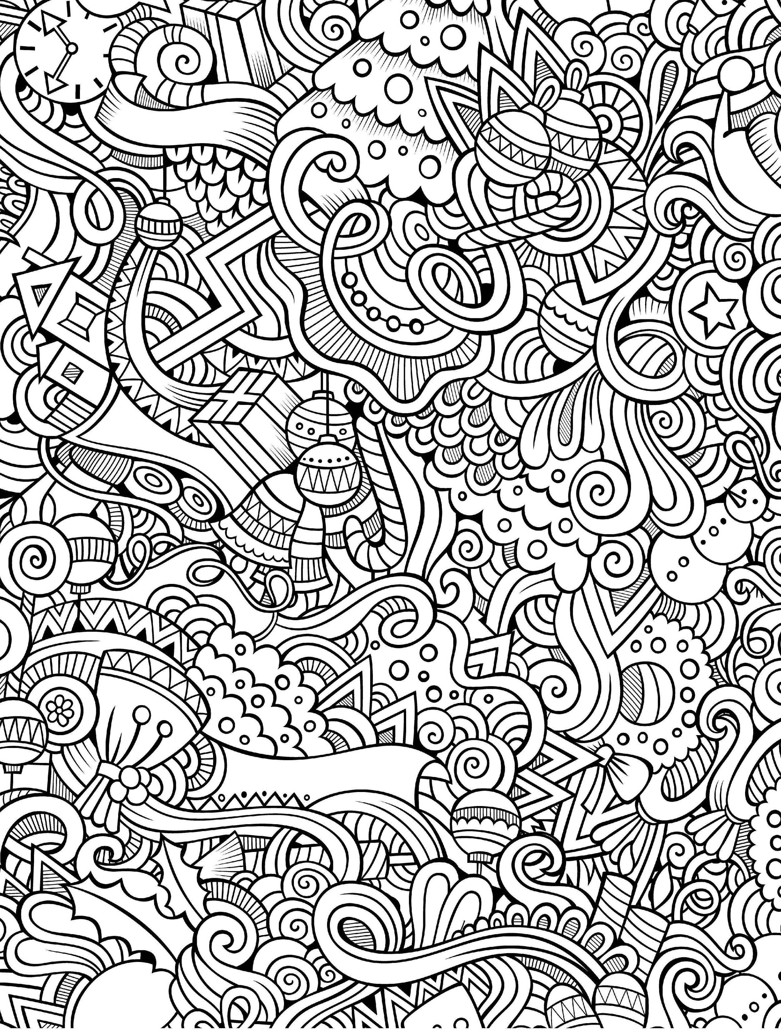 Free Adult Coloring Pages Pdf Coloring Page Free Adult