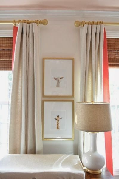 Pretty For A Nursey Inside Of Drapes With Color Kiddos