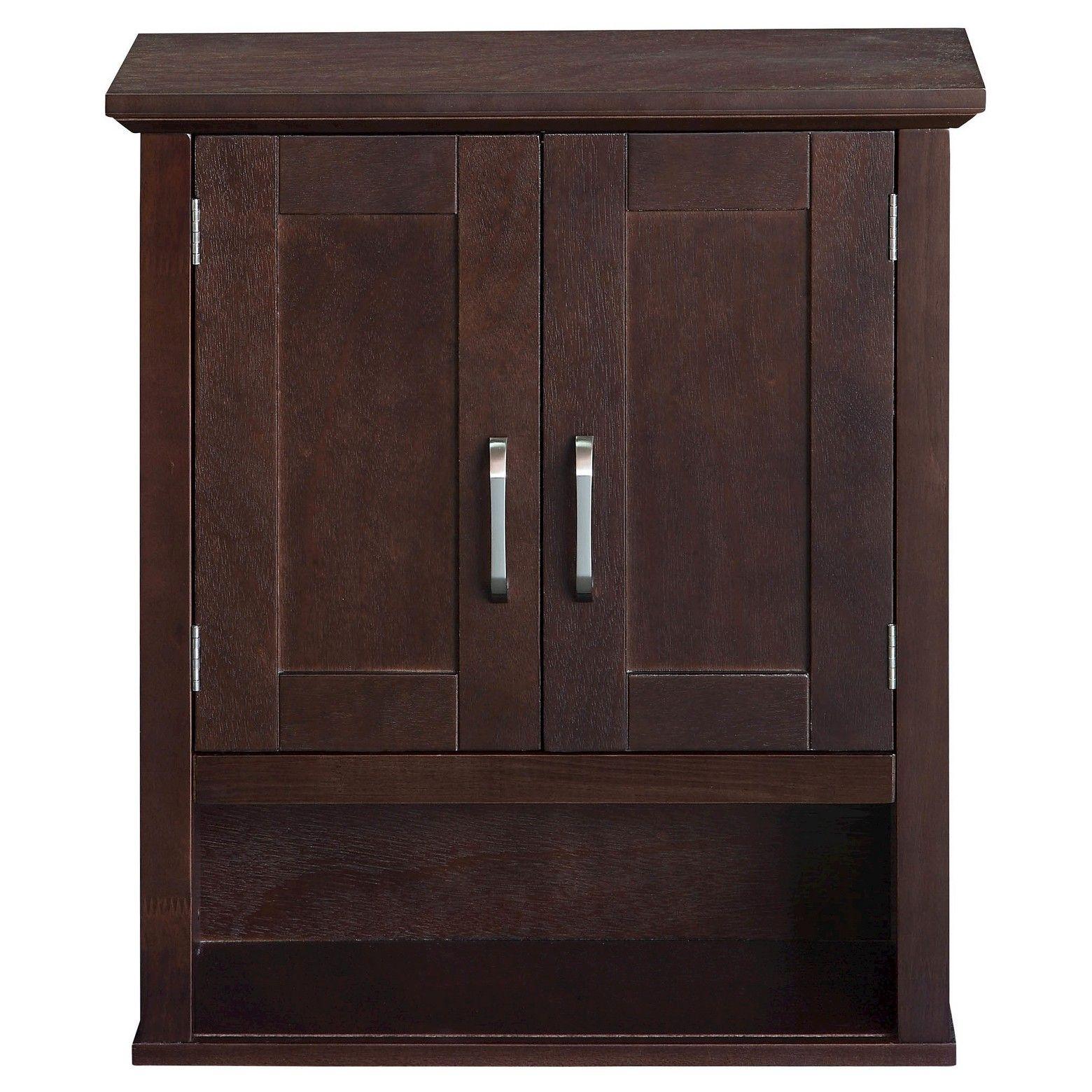 Wood Wall Cabinet Threshold Bathroom Shelf Decor Wood Wall Cabinet Shelving