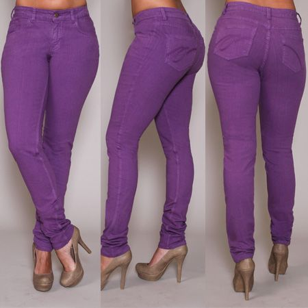 Purple Plus Size Jeans | Bbg Clothing