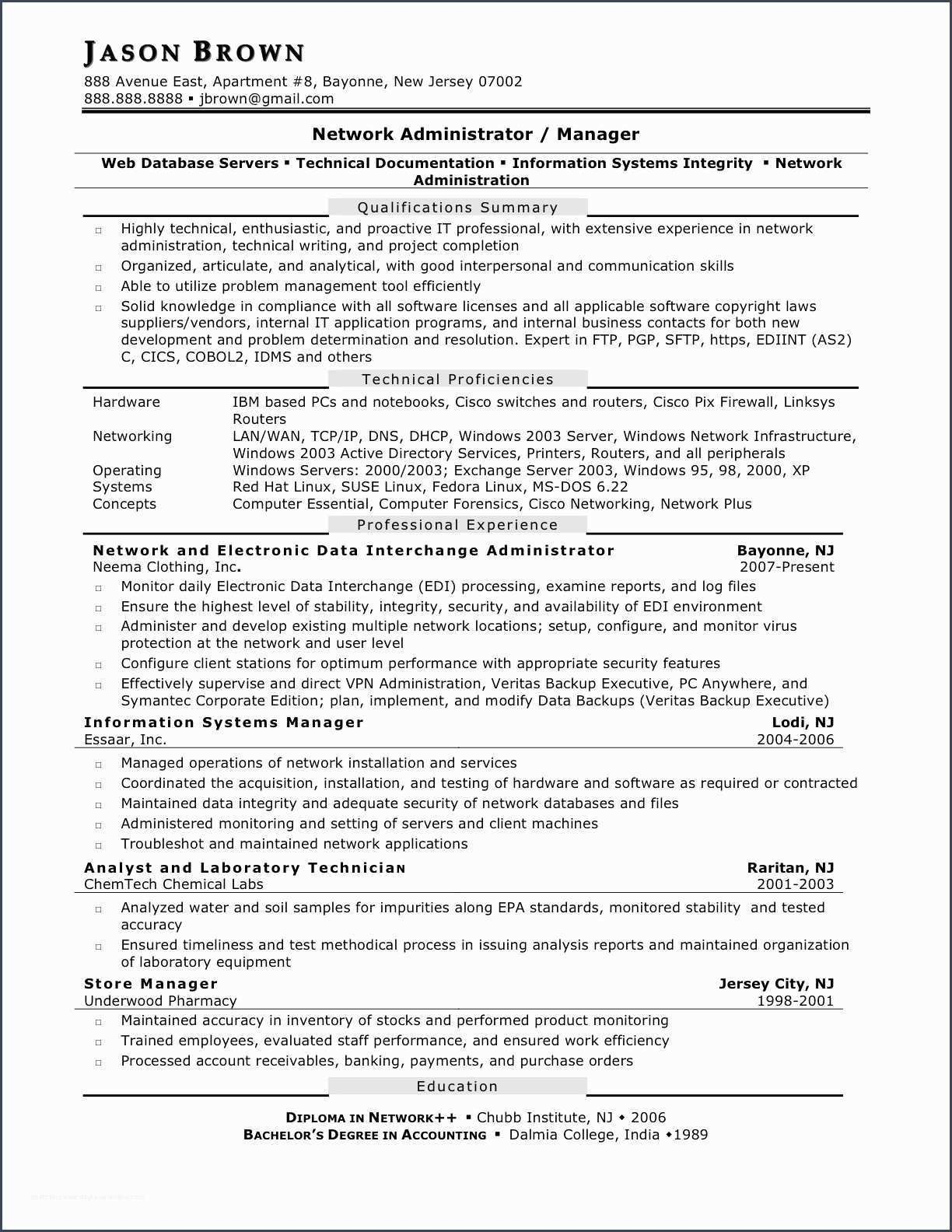 besttest engineer resume