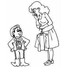 Image Result For Coloring Pages Of Mother And Son